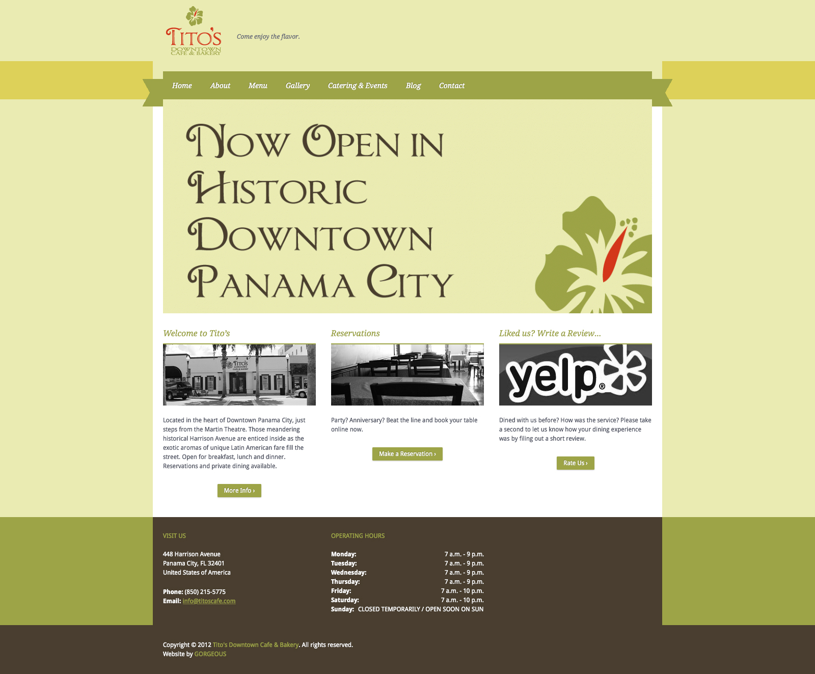 Tito's Downtown Cafe & Bakery - - Home